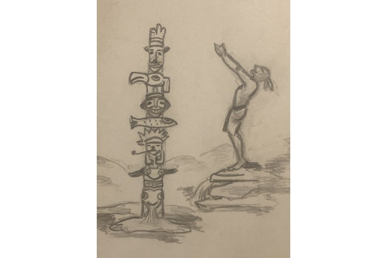 Copy of Brunel totem and MoonHaw sketch